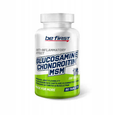 Be First Glucosamine Chondroitin MSM (90 табл)