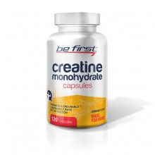 Be First Creatine Monohydrate Capsules (120 капc)