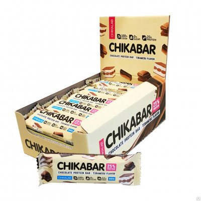Chikalab Протеиновый батончик Chikabar