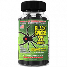 Cloma Pharma Black Spider 25 ECA
