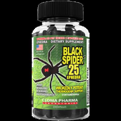 Cloma Pharma Black Spider 25 ECA
