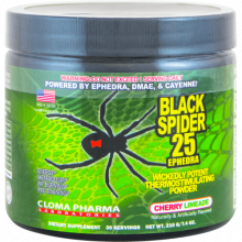Cloma Pharma Black Spider Powder 25 Ephedra