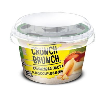 Арахисовая паста Crunch Brunch классическая