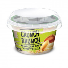 Арахисовая паста Crunch Brunch хрустящая