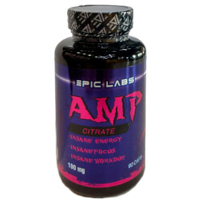 Epic Labs AMP Citrate 100 мг (90 капс)