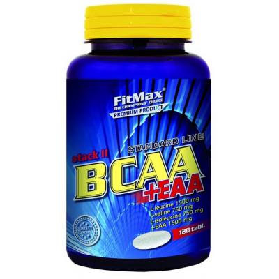 FitMax BCAA STACK II + EAA (120 таб)