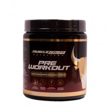 MuscleCraft Nutrition Pre WorkOut sprint speed