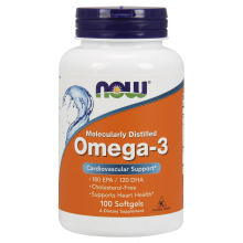 NOW Omega-3 1000 мг (100 капс)