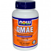 NOW DMAE 250 mg (100 капс)