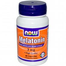 NOW Melatonin 3 мг (60 капс)