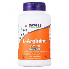 NOW L-Arginine 500 mg (100 капс)