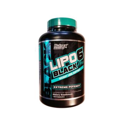 Nutrex Lipo-6 Black Hers INTL (120 капс)