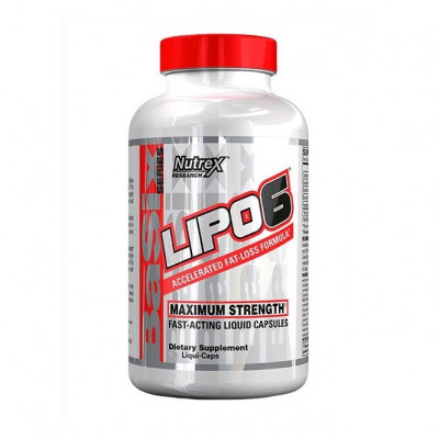 Nutrex Lipo-6 (120 капс)