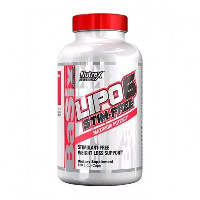 Nutrex Lipo-6 stim-free (120 капс)