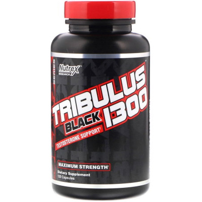 Nutrex Tribulus Black 1300  (120 капс)