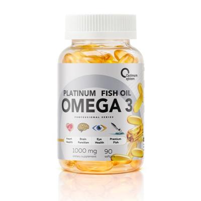 Optimum System Omega3 Platinum Fish Oil (90 капс)
