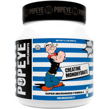 Popeye Supplements Creatine Monohydrate jar (500 гр)