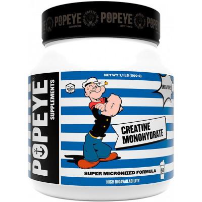 Popeye Supplements Creatine Monohydrate jar (500 гр)