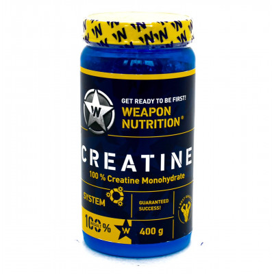 Weapon Nutrition CREATINE System 100% Monohydrate 400g